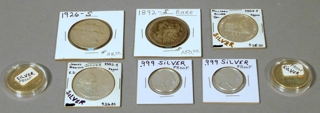 Silver Coins & Currency
