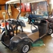 EZ-Go golf cart-some damage to front fender but runs great and has all new batteries!: