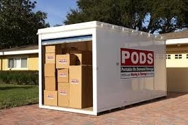 Unpaid Self Storage Auction PODS Containers Thomas Hayward