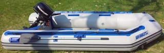 Sea Eagle 10' Rigid Inflatable Boat with Mercury Engine