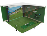 High Definition Golf Simulator Timed Internet Only Auction