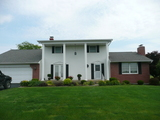 Real Estate Auction Offering Beautiful Colonial 2 Story Home Country Location on 1.42 Acres in Huntington, Indiana