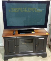 Panasonic TV & Jasper Furniture Stand