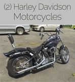 INSPECT TUESDAY Harley Davidson Motorcycles