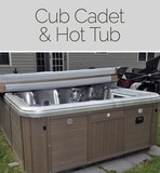 CLOSING TUESDAY Cub Cadet Tank, Hot Tub and More Online Auction