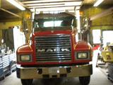 2004 Mack Semi, I-Joists and Plywood