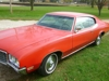 1970 Buick Skylark: 1970 Buick Skylark 2 door w/white leather-vinyl interior, 350V8, all original, only 23,900 miles