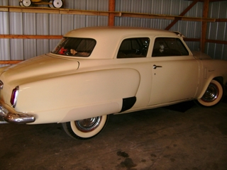 1950 Studebacker Champion 2 door: 1950 Studebacker Champion 2 door w/sun visor, spotlight, radio works, original interior, 3 speed w/overdrive, nice