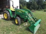 LARGE GREEN FARMSTEAD AUCTION