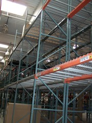 Over 200 Sections Pallet Rack