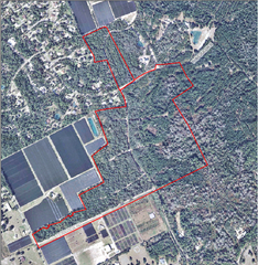 Aerial Map of Parcel 1 & 2