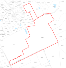 Map View of Parcel 1 & 2
