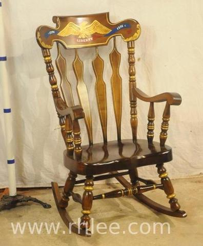 lion head rocking chair with arms online southern market auction rh lee company