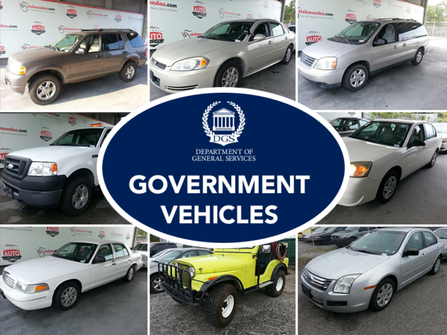 Government Vehicles - Auction Portal Network