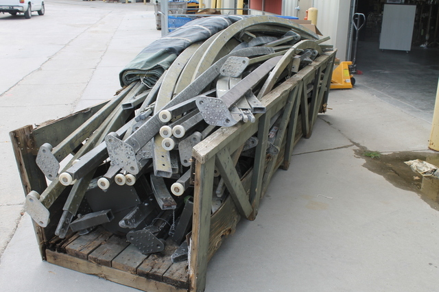 ... Two 20u0027 x 40u0027 Military Grade Army Tents w/ Rollup Garage Doors ... & Unreserved Online Only Timed Auction - Industrial Military Army ...