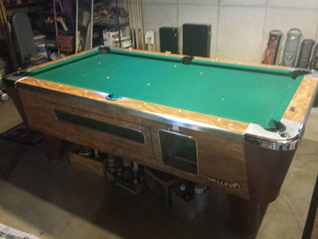 Valley Pool Table ...