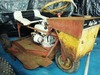 "1968 Swisher Ride King ""3 wheel"" mower:"
