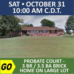 PROBATE COURT AUCTION - Real Estate