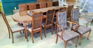 Dining Table & 12 Chairs