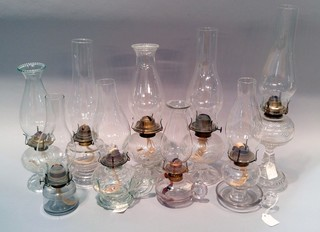 Large Selection of Oil Lamps