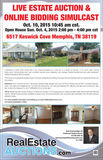 Estate Auction 4 bedroom 2 bath Brick Home