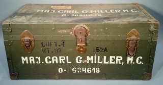 Vintage Army Medical Corps Trunk