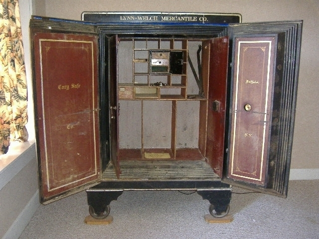 FOR SALE… BANK VAULT/ FLOOR SAFE – CARY SAFE CO., BUFFALO, NY for ...