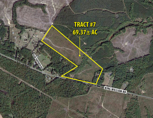 (Tract 7 of 7) 69.37± Acres King William, VA