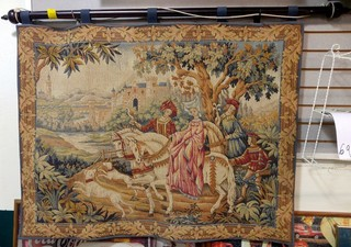 """The Royal Hunt Tapestry"" by Marc Waymel, The Franklin Mint"