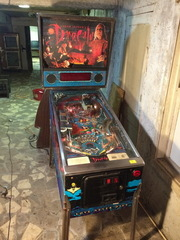 Dracula Pin Ball Machine
