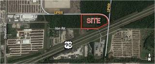 Commercial Land with Rail Available