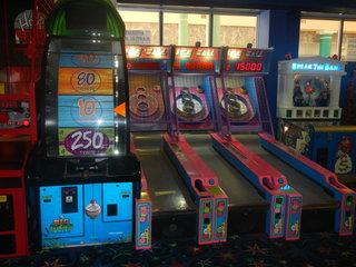 Skee Ball and Arcade Games
