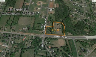 6 +/- AC Ready for Commercial and Residential Development on the Corner of Barfield Rd and Veterans Pkwy in Murfreesboro, TN