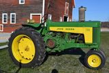 20+ JOHN DEERE 2 CYLINDER TRACTORS & HOBBY EQUIPMENT FROM THE KENNETH OLSON ESTATE