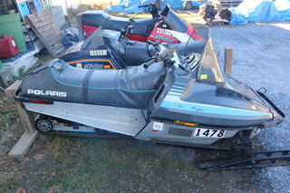 1989 polaris indy trail snowmobile absolute auction amp realty