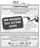 Now Offering 2016 Auction Dates
