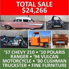 ONLINE ONLY ABSOLUTE AUCTION - Vehicles