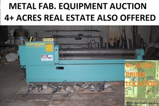 Onsite Auction with Internet Bidding Available - Formerly Thomas Steel Works