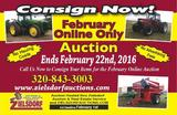 February Online Only Consignment Auction