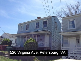 129 N Park Dr. & 520 Virginia Ave., Petersburg, VA