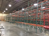 Large Quantity of Pallet Racking