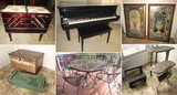 Greenville, SC - Baby Grand Piano, Household Furniture, Decor & More! - Online Only Auction