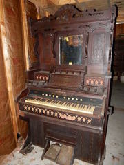 Antique Weaver Pump Organ