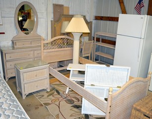 Wicker Bedroom Suite