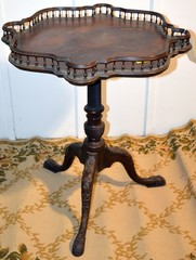Chippendale-Style Pie Crust Table