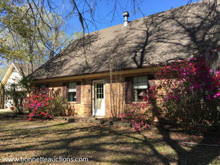 GRANT PARISH WATERFRONT HOME FOR SALE AT AUCTION PLUS FURNISHINGS, TOOLS, & EQUIPMENT!