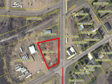 Commercial Lot at Busy Intersection