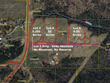 Buildable 5± Acre Lots in Great Development
