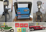 Greenville, SC - Woodworking Equipment, Collectible Toys, Coins, Currency& More - Online Only Auction