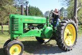 Vintage Farm Tractors & Shop Equipment